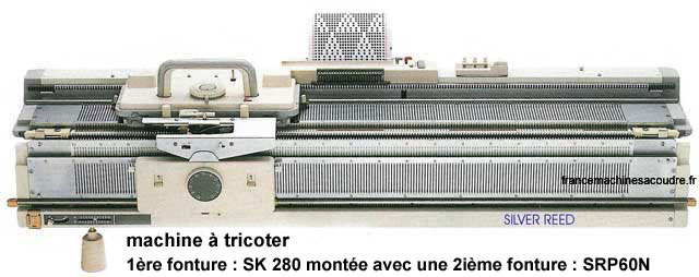 machine tricoter sk 280 france general machines. Black Bedroom Furniture Sets. Home Design Ideas