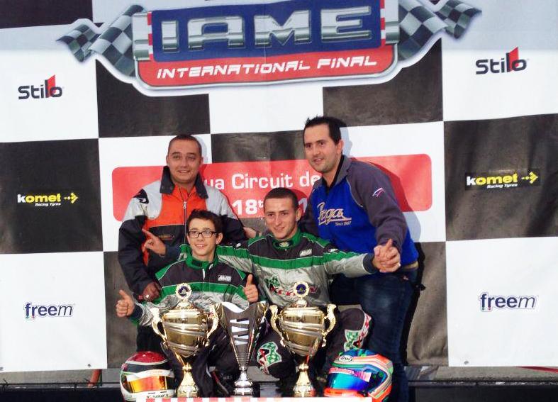 Double podium au Championnat du Monde Iame 2012