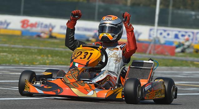 Max Verstappen WSK Castelletto