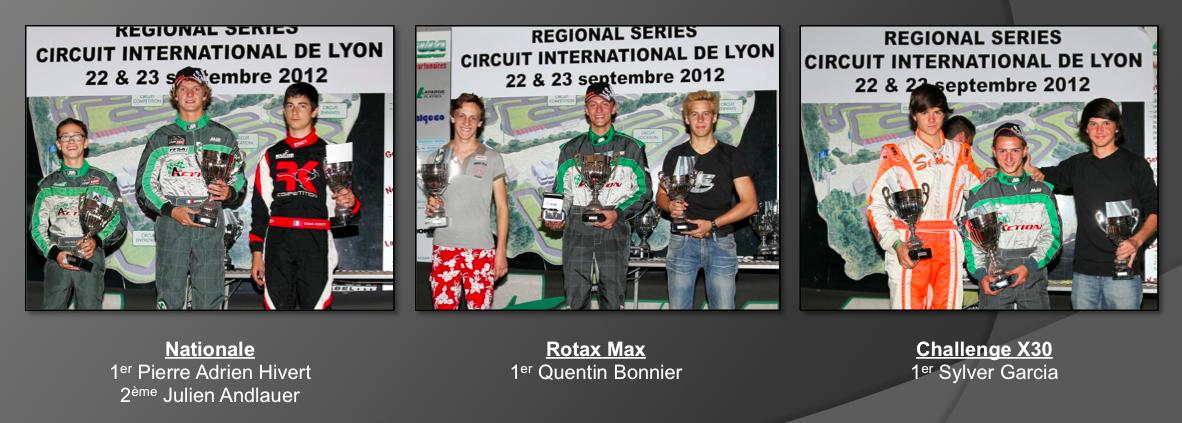 Regional Series 2012